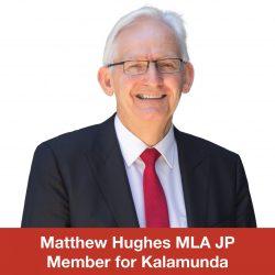 Matthew Hughes MLA